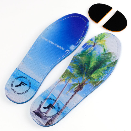 FOOTPRINT 6-6.5 Kingfoam Flat Beach Insoles 7MM