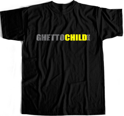 Ghetto Child T-Shirt (Black) Large