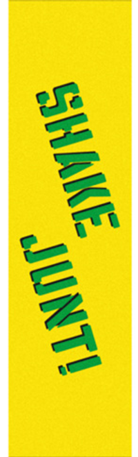 SHAKE JUNT YELLOW/GREEN GRIP SHEET