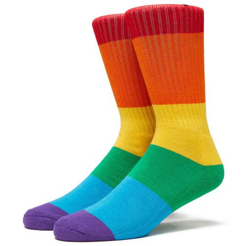 Psockadelic x Baker Striper Rainbow Socks