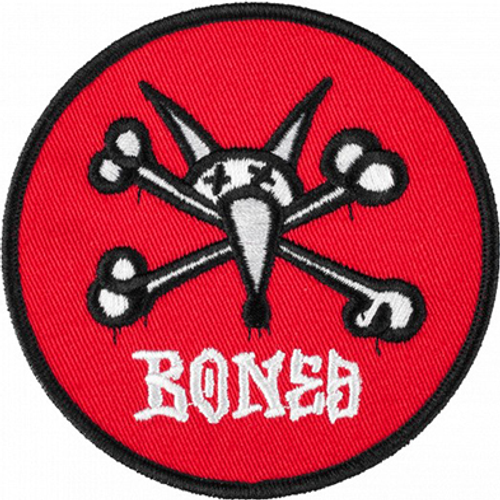 POWELL RAT BONES RED PATCH