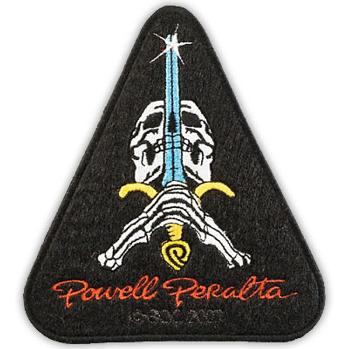 POWELL SKULL & SWORD PATCH