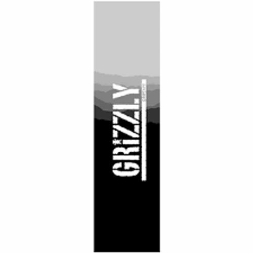 "Grizzly 9"" Range Stamp Griptape Black"