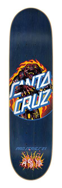 """Santa Cruz 8.0"""" Asta Cosmic Cat Dot 8.00in x 31.50in"""
