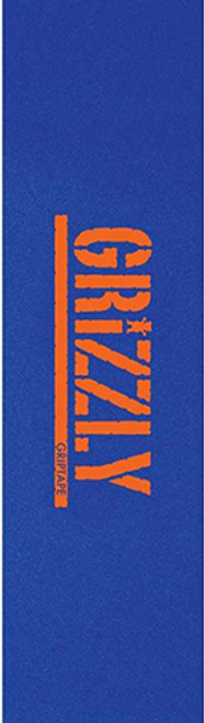 """GRIZZLY 9"""" STAMPED NECESSITIES BLUE/ORANGE PERFORATED SHEET"""