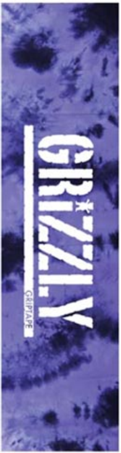 """GRIZZLY 9"""" TIE DYE PURPLE PERFORATED SHEET"""
