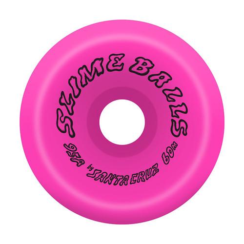 SLIME BALLS 60mm Scudwads Vomits Neon Pink 95a