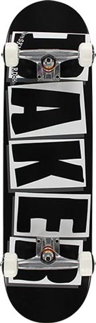 """BAKER 8.5"""" BRAND LOGO WHITE COMPLETE"""