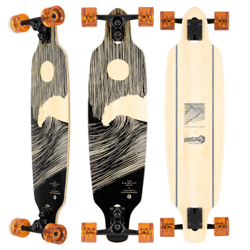 Sector 9 SHOOTS FULL MOON  8.7x33.5 sidewinder  Complete