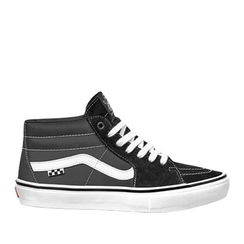 Vans Skate Grosso Mid Shoes (Black/White/Emo Leather)
