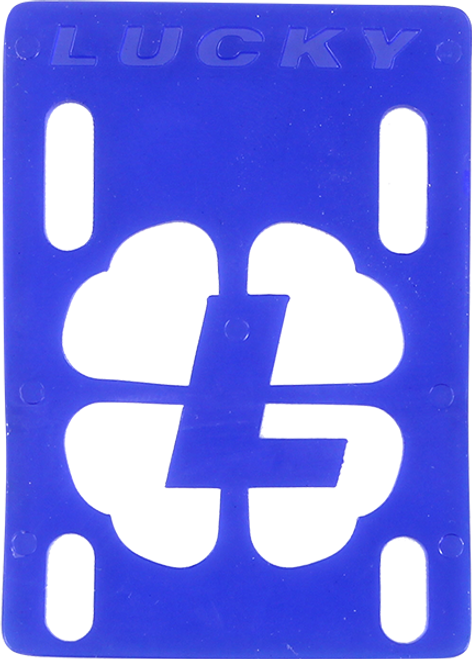 "LUCKY RISERS BLUE 1/8"" (SET)"