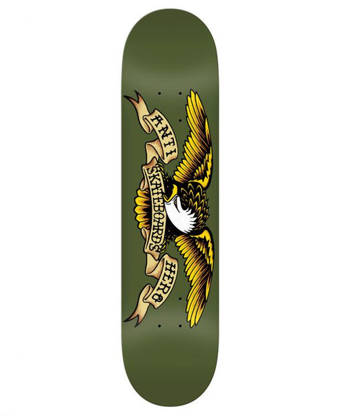 "ANTI-HERO 8.38"" CLASSIC EAGLE DECK GREEN"