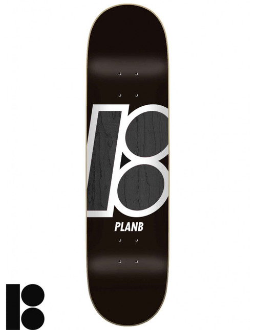 """PLAN B 8.0"""" STAINED DECK"""