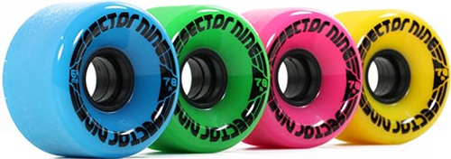 SECTOR 9 NINEBALL MIXED COLORS 64MM 78A (Set of 4)