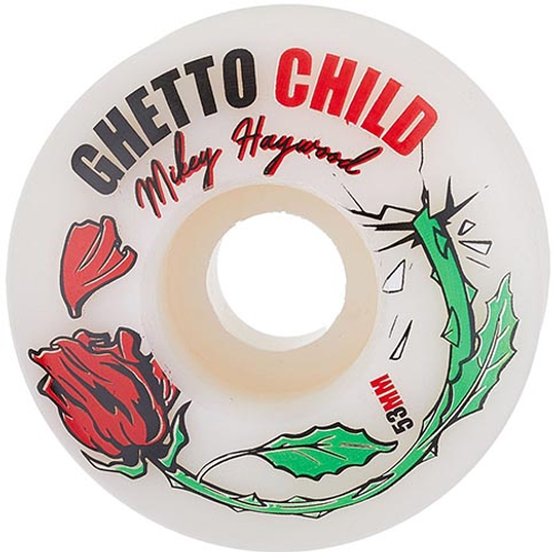 GHETTO CHILD HAYWOOD CONCRETE ROSE 53MM 101A (Set Of 4)
