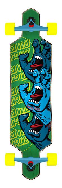 Santa Cruz Screaming Hand Stack 9.0in x 36in Cruzer Drop Thru