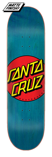 "Santa Cruz 8.5"" Classic Dot 8.5in x 32.2in deck"