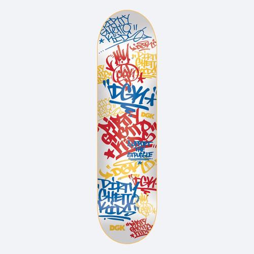 """DGK Summer School 7.8"""" Skateboard Deck"""