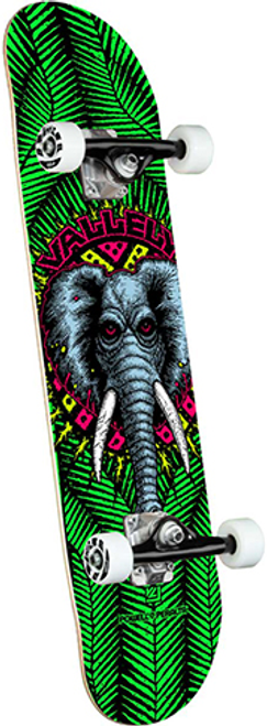 """POWELL 8.0"""" VALLELY ELEPHANT GREEN COMPLETE 8.00 X 31.45"""