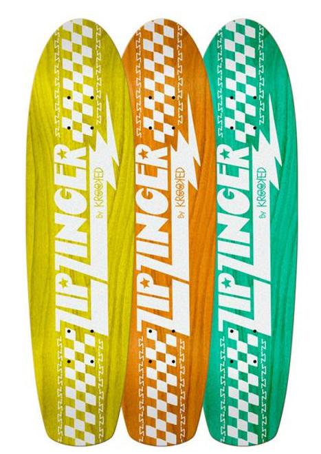 "Krooked 7.75"" Zip Zinger Cruiser Deck Asst Colors"