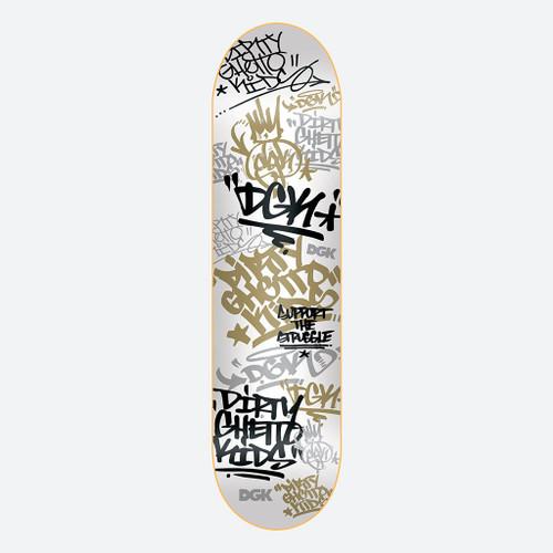 """DGK Summer School 8.0"""" Skateboard Deck"""