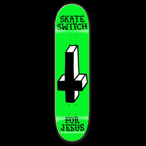 """ROGER SKATE CO. 8.38"""" SKATE SWITCH DECK"""