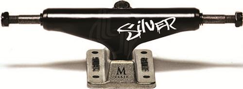 """SILVER TRUCK M-CLASS HOLLOW BLACKOUT 8.0"""" (SET)"""
