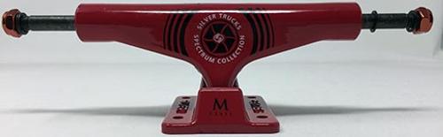 """SILVER TRUCK M-CLASS HOLLOW SPECTRUM RED 8.0"""" (SET)"""