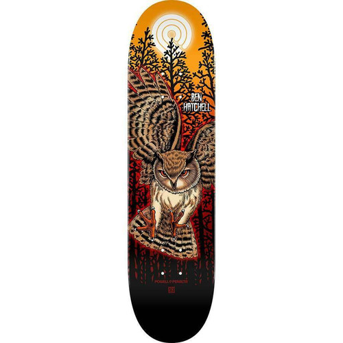 "POWELL 8.25""  HATCHEL OWL PP DECK"