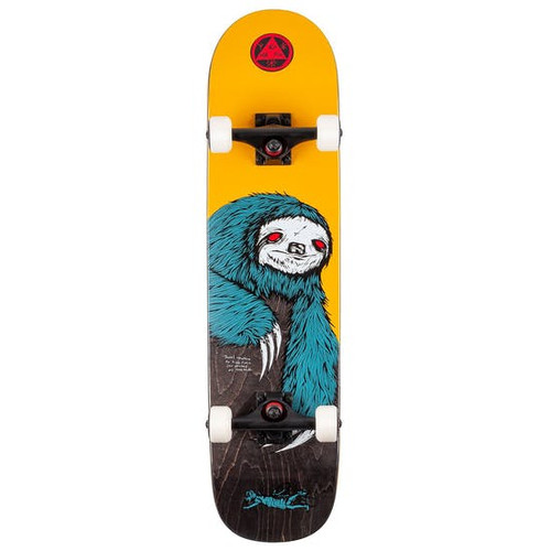 "Welcome Sloth Kids 7.75"" Skateboard Complete"