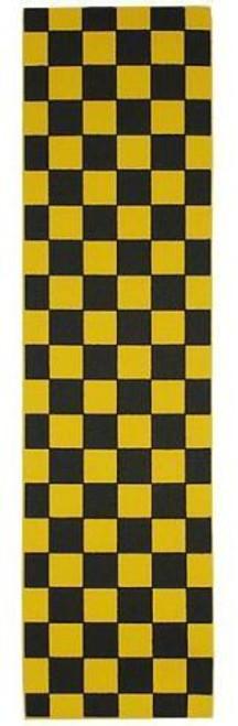 "FKD Grip Checkers Black/Yellow 9"""