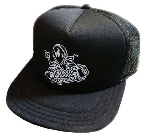 VANS GROSSO FOREVER TRUCKER HAT BLACK