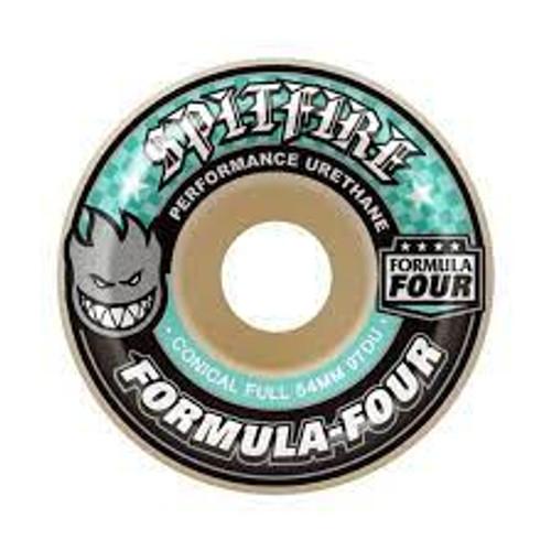 SPITFIRE 54MM FORMULA FOUR CONICAL FULL 97D (Set of 4)