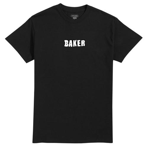 BAKER BRAND LOGO BLACK  T-SHIRT