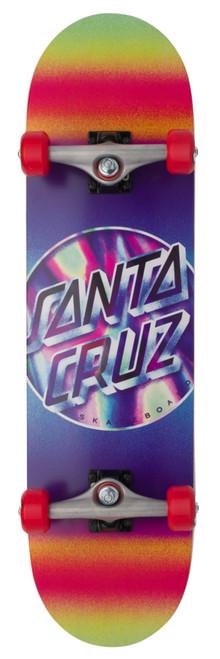 Santa Cruz Iridescent Dot Large Sk8 Completes 8.25in x 31.5in