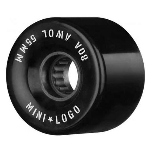 MINI LOGO A.W.O.L. BLACK 55MM 80A (Set of 4)