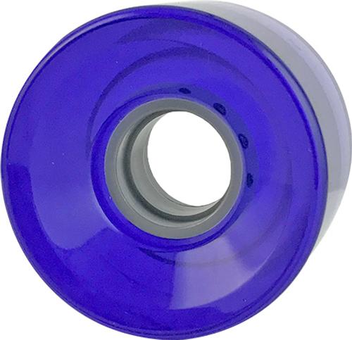 BLANK CRUISER CLEAR PURPLE 60MM 83A (Set Of 4)