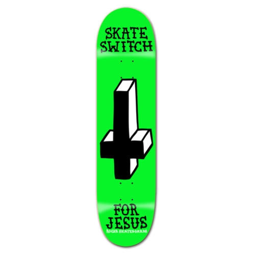 """ROGER SKATE CO. 8.12"""" SKATE SWITCH DECK"""