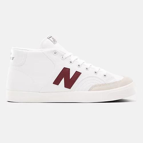 New Balance 213BBO (White/Maroon)