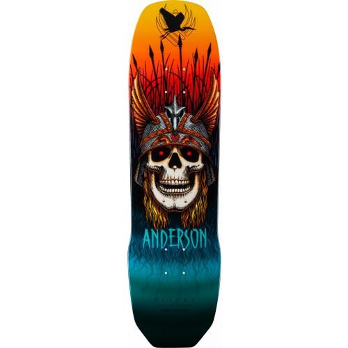 "Powell Peralta Pro Andy Anderson Heron Flight® Skateboard Deck 9.13"""