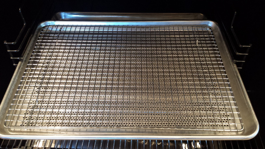 Helps to create more airflow around your cook.