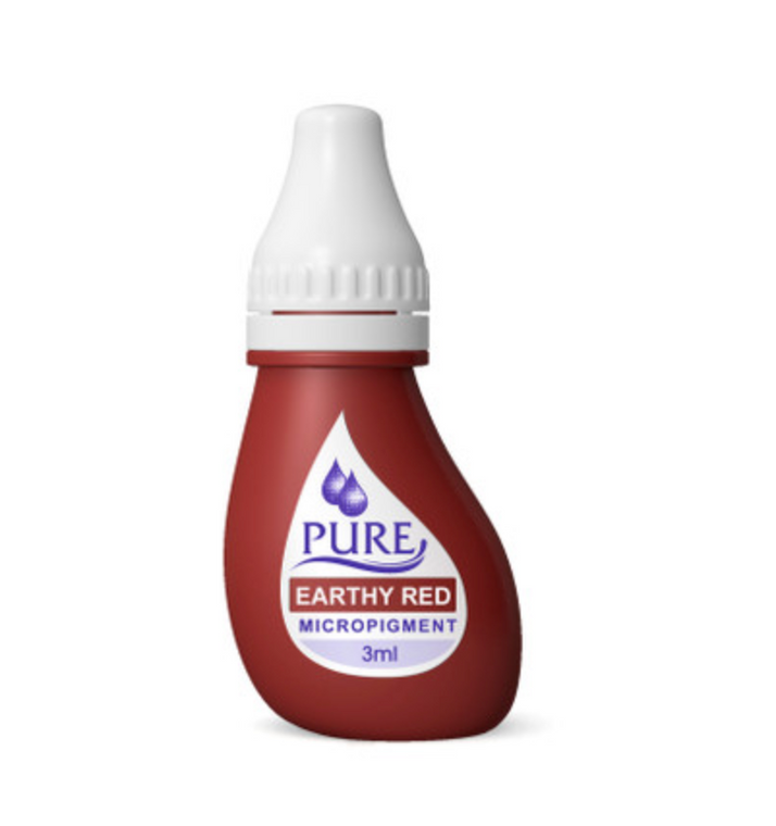 3 ML Pure Earthy Red pigment 6 pcs/ box
