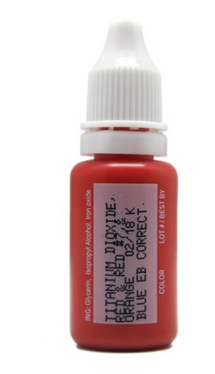 1/2 oz Pigment - Blue Eyebrow Corrector