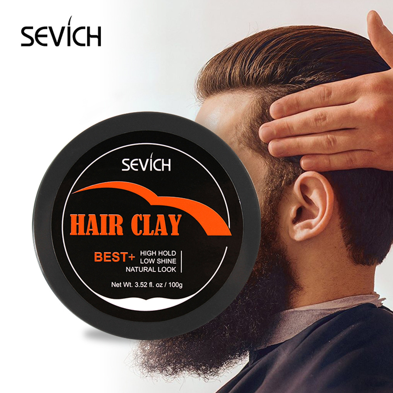 Hair Clay For Men Sevich S Matte Textured Styling Paste Long Time Strong Hold For Unisex 3 52