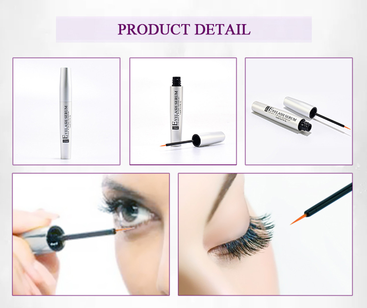 52e9c7fd769 Eyelash Growth Serum 5ml; Eyelash Growth Serum 5ml ...