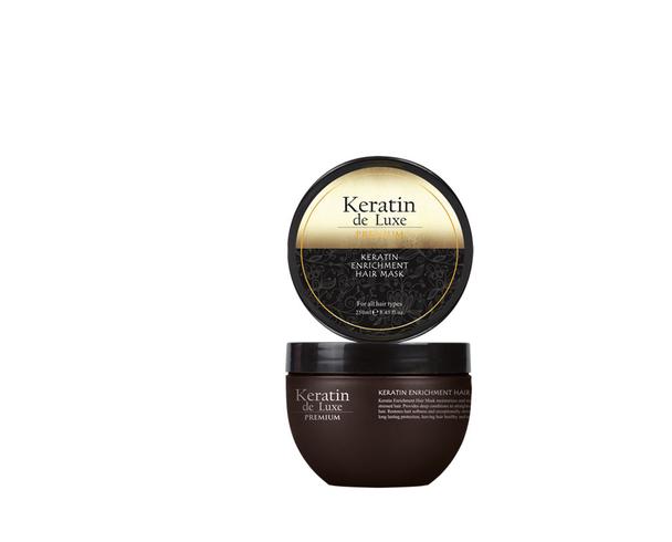 Keratin Hair Mask   Repair damaged hair instantly 250 ml