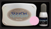StazOn Ink Pad Opaque Blush Pink with Reinker