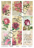3Quarter Designs Tag Sheet Vintage Floral  3Quarter Designs presents TAGS Add On's! A4 (210 x 297mm) 300gsm card stock Acid and lignin free Designed and Printed in New Zealand These printed designs are suitable for all types of paper crafts in a range of shapes and sizes that include images and quotes and can be used on a number of projects! Add them onto your cards, scrapbook layouts, mini albums and off the page or use them on your art journal pages. They are a great Add On product with many uses -on your cards they can be a feature or a matt for your focus piece. Add them onto your layouts as a quote, a photo matt or tucked as an added layer, you can also fussy cut them and be used as paper embellishments!