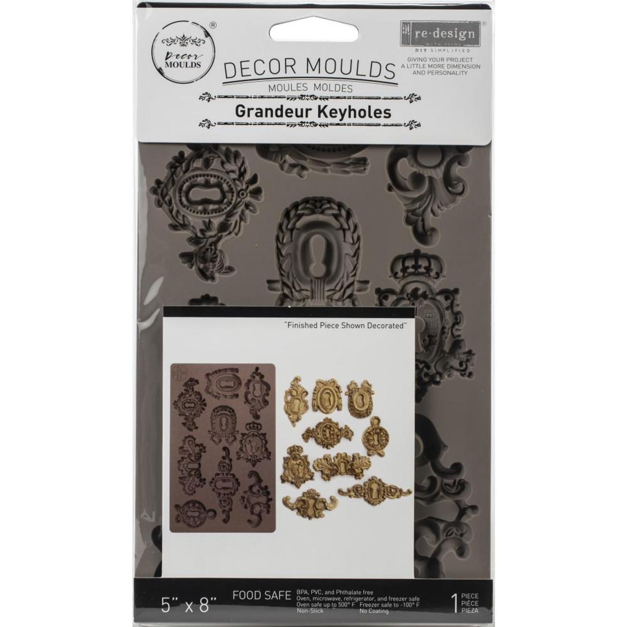 "Prima Marketing Re-Design Mould 5/""X8/""X8mm-Grandeur Keyholes 641016"