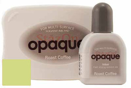 StazOn Ink Pad Opaque Fava Green with Reinker